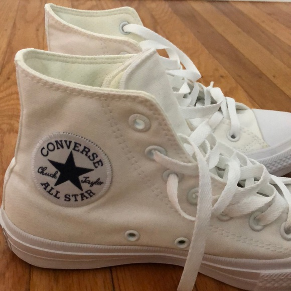 CONVERSE ALL STAR With Lunarlon Color Wine and White Size 9